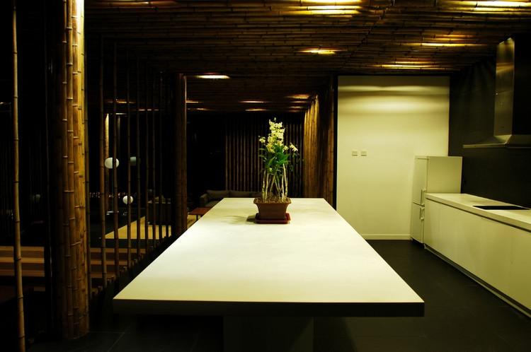 竹子餐厅家居办公案例-济南竹子羊床|山东羊床|养羊漏